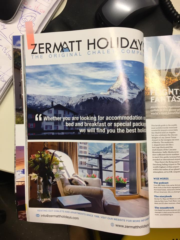 Jacob Design Zermatt Holidays