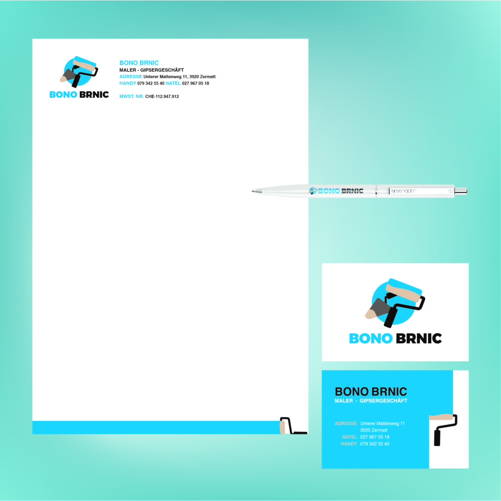Jacob Design bono brinco corporate identity