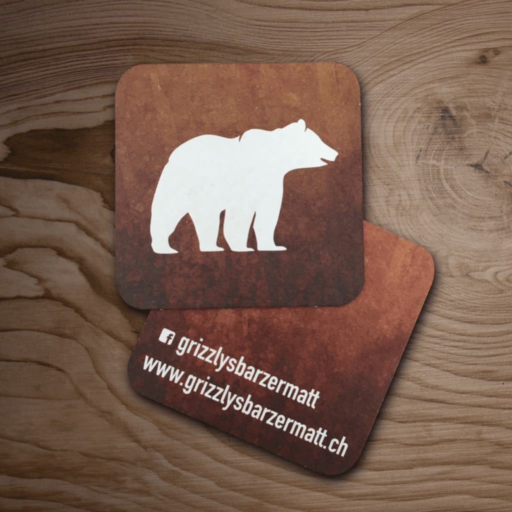 Jacob Design grizzly's coaster