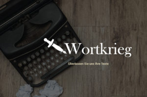 Jacob Design Wortkrieg